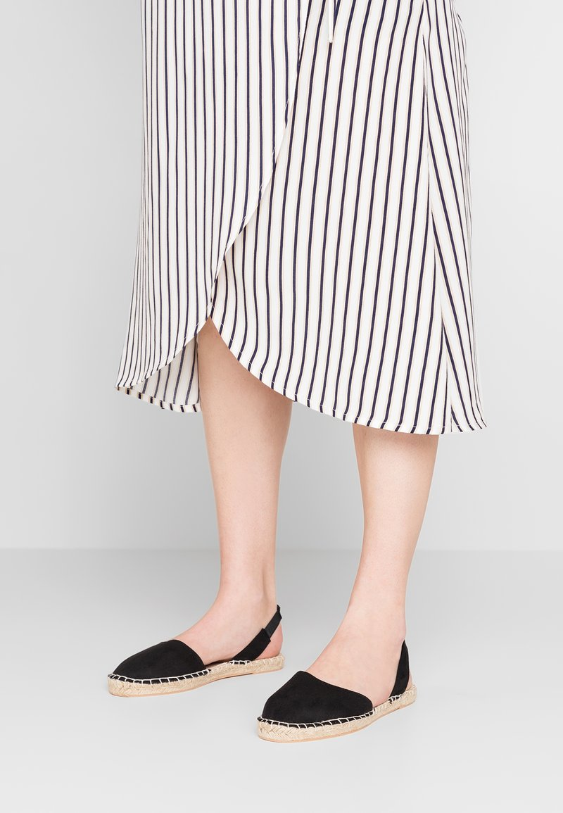 New Look Wide Fit - WIDE FIT MILLIE - Espadrilles - black