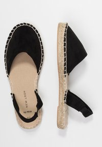 New Look Wide Fit - WIDE FIT MILLIE - Espadrilles - black - 3