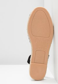New Look Wide Fit - WIDE FIT MILLIE - Espadrilles - black - 6