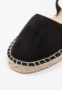 New Look Wide Fit - WIDE FIT MILLIE - Espadrilles - black - 2