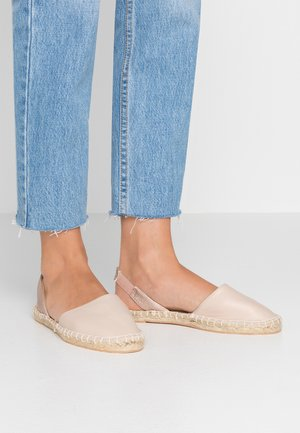 WIDE FIT MILLIE - Espadrilles - oatmeal