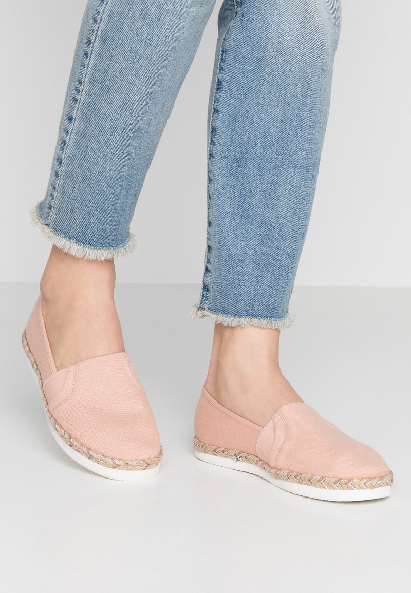 New Look Wide Fit - WIDE FIT MARLENE - Espadrilles - light pink