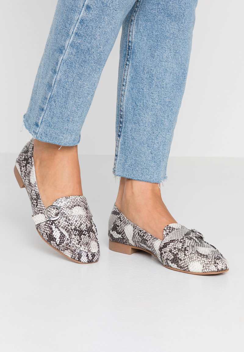 New Look Wide Fit - WIDE FIT JUCKS  - Slipper - stone