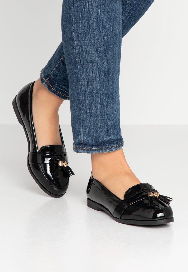 New Look Wide Fit - WIDE FIT JIM  - Slipper - black