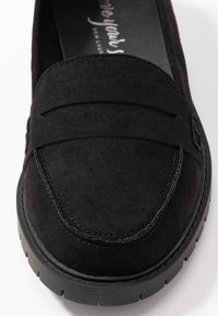 New Look Wide Fit - WIDE FIT JUNKER - Mocassins - black - 2