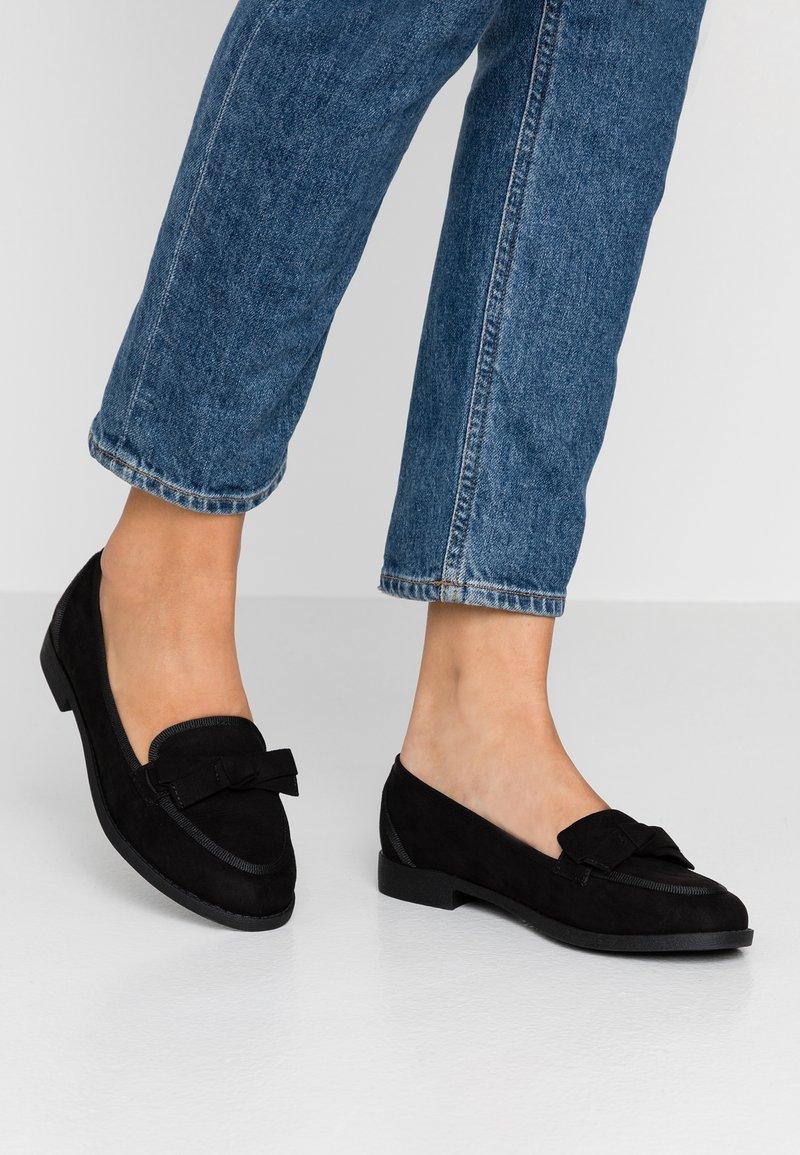 New Look Wide Fit - WIDE FIT LANE - Slipper - black