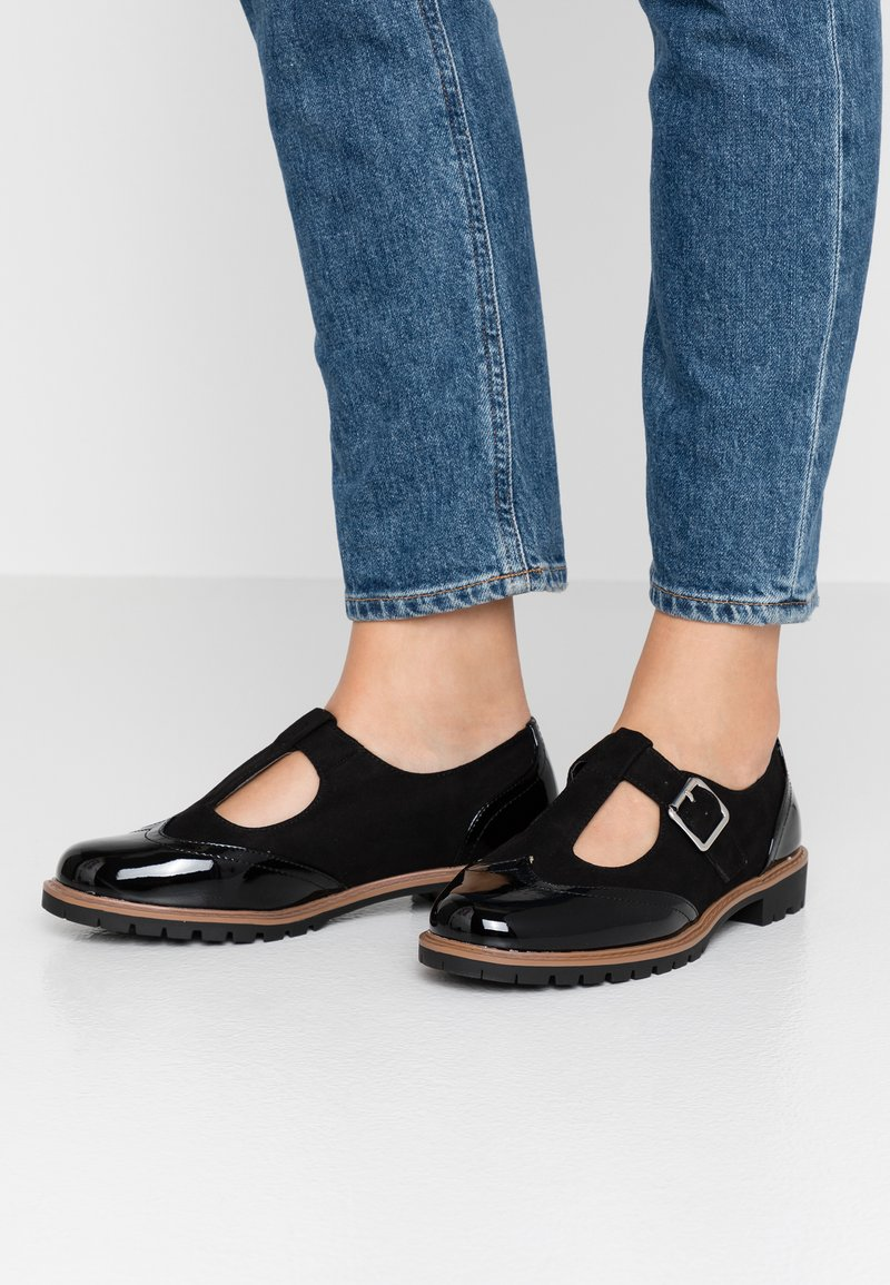 New Look Wide Fit - WIDE FIT JANE - Slipper - black