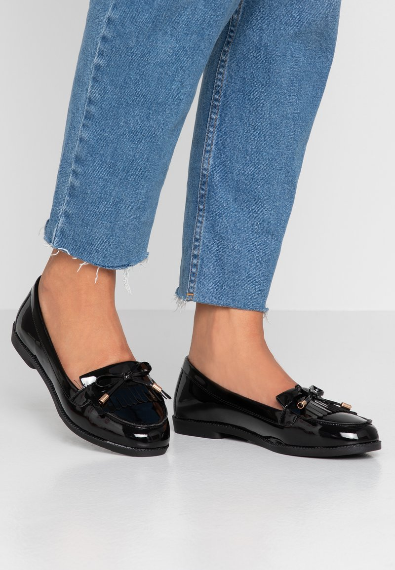 New Look Wide Fit - WIDE FIT JEMMA  - Slip-ons - black