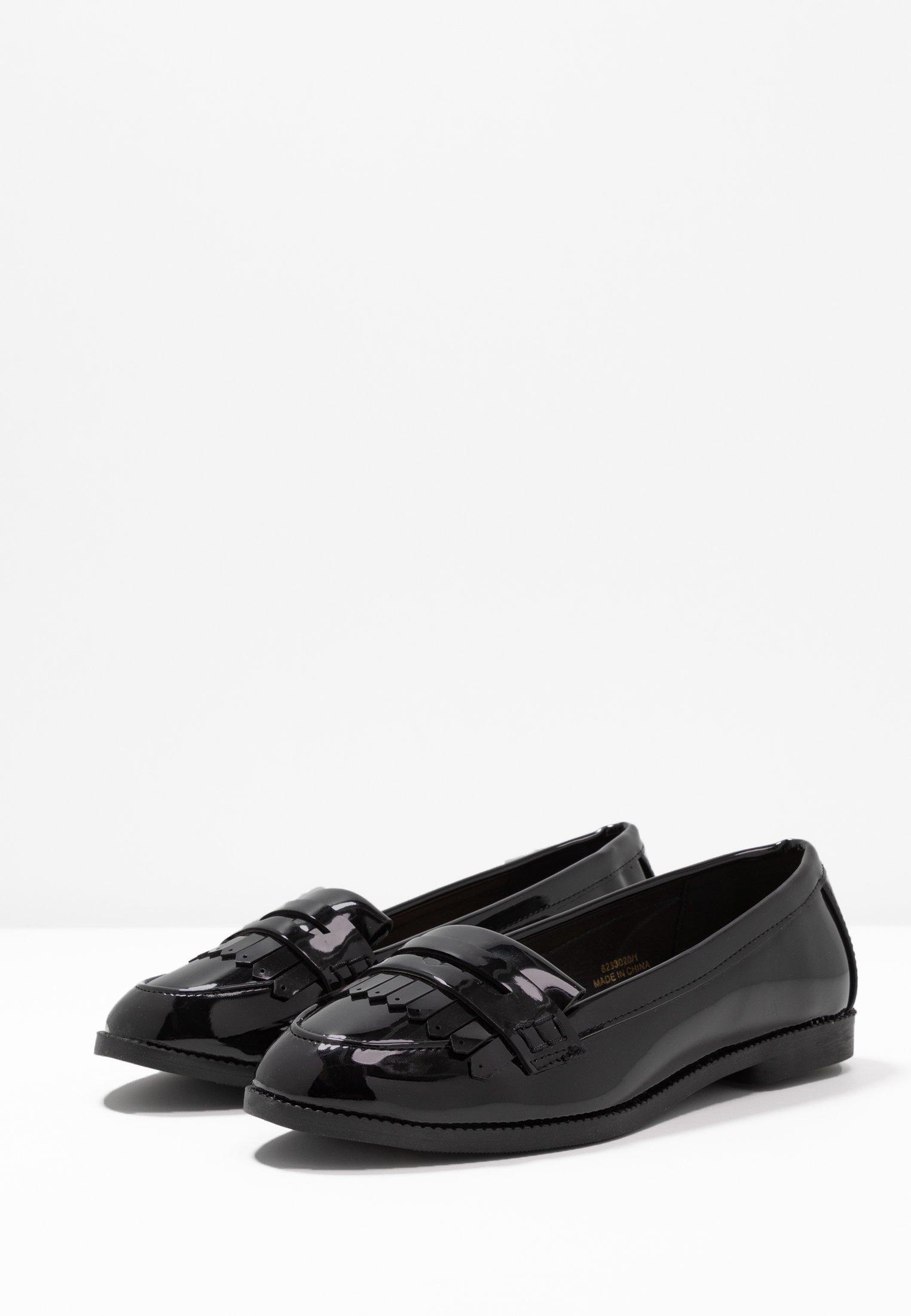 New Look Wide Fit WIDE FIT JAMES - Mocassins black