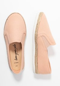 New Look Wide Fit - WIDE FIT MARLETTA - Espadrilles - light pink - 3