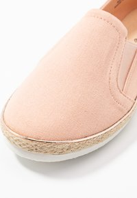 New Look Wide Fit - WIDE FIT MARLETTA - Espadrilles - light pink - 2