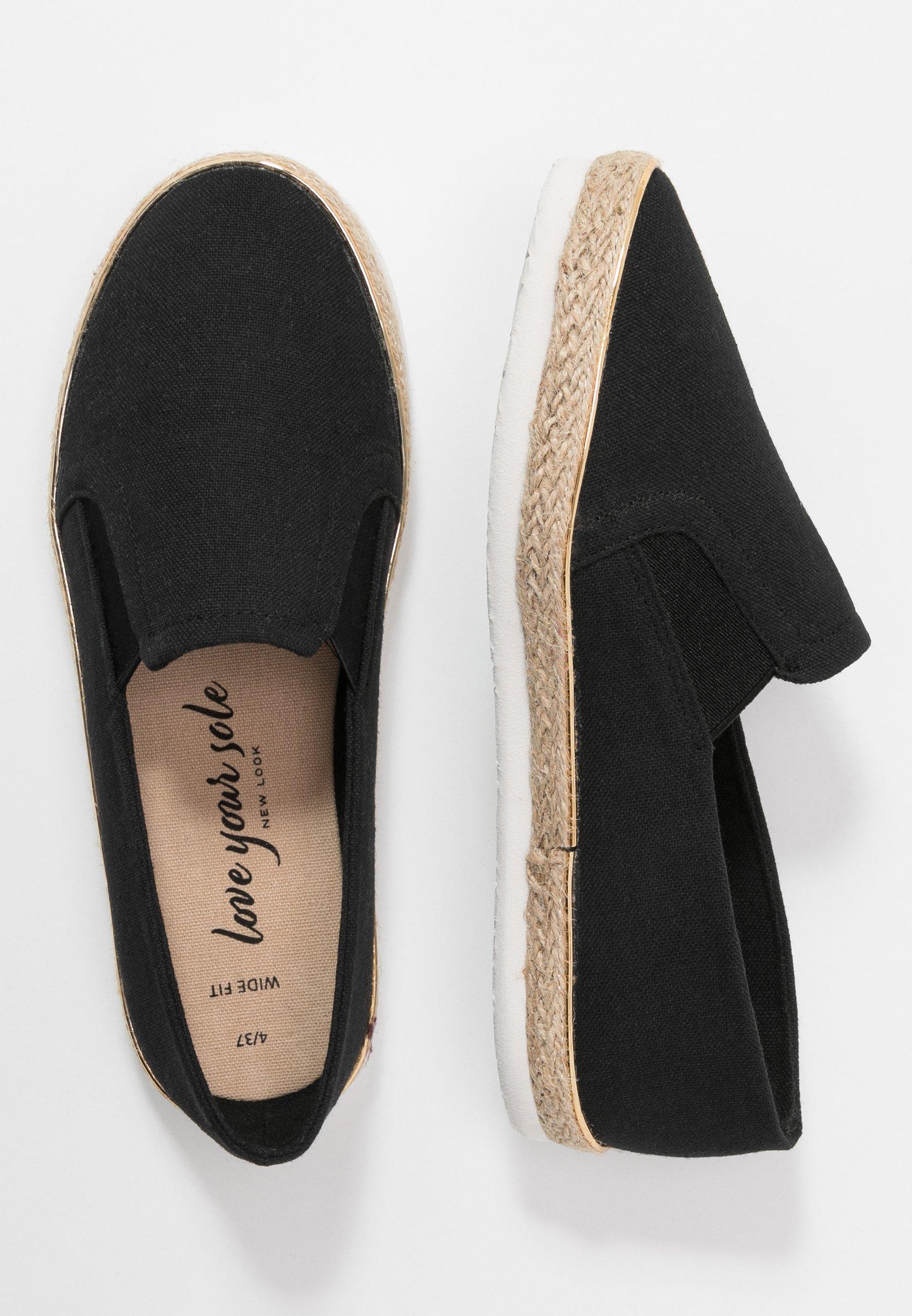 New Look Wide Fit WIDE FIT MARLETTA - Espadrilles - black