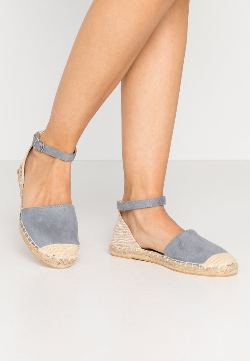 New Look Wide Fit - WIDE FIT MAJESTY - Espadrilky - light blue
