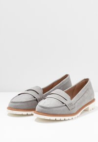 New Look Wide Fit - WIDE FIT JUNKER - Slip-ons - mid grey - 4