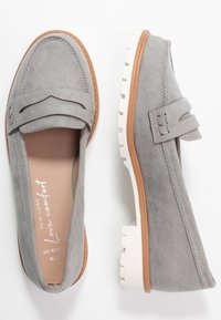 New Look Wide Fit - WIDE FIT JUNKER - Slip-ons - mid grey - 3