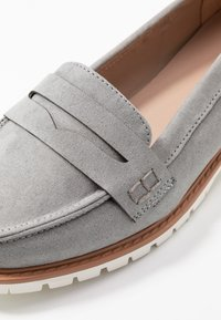 New Look Wide Fit - WIDE FIT JUNKER - Slip-ons - mid grey - 2