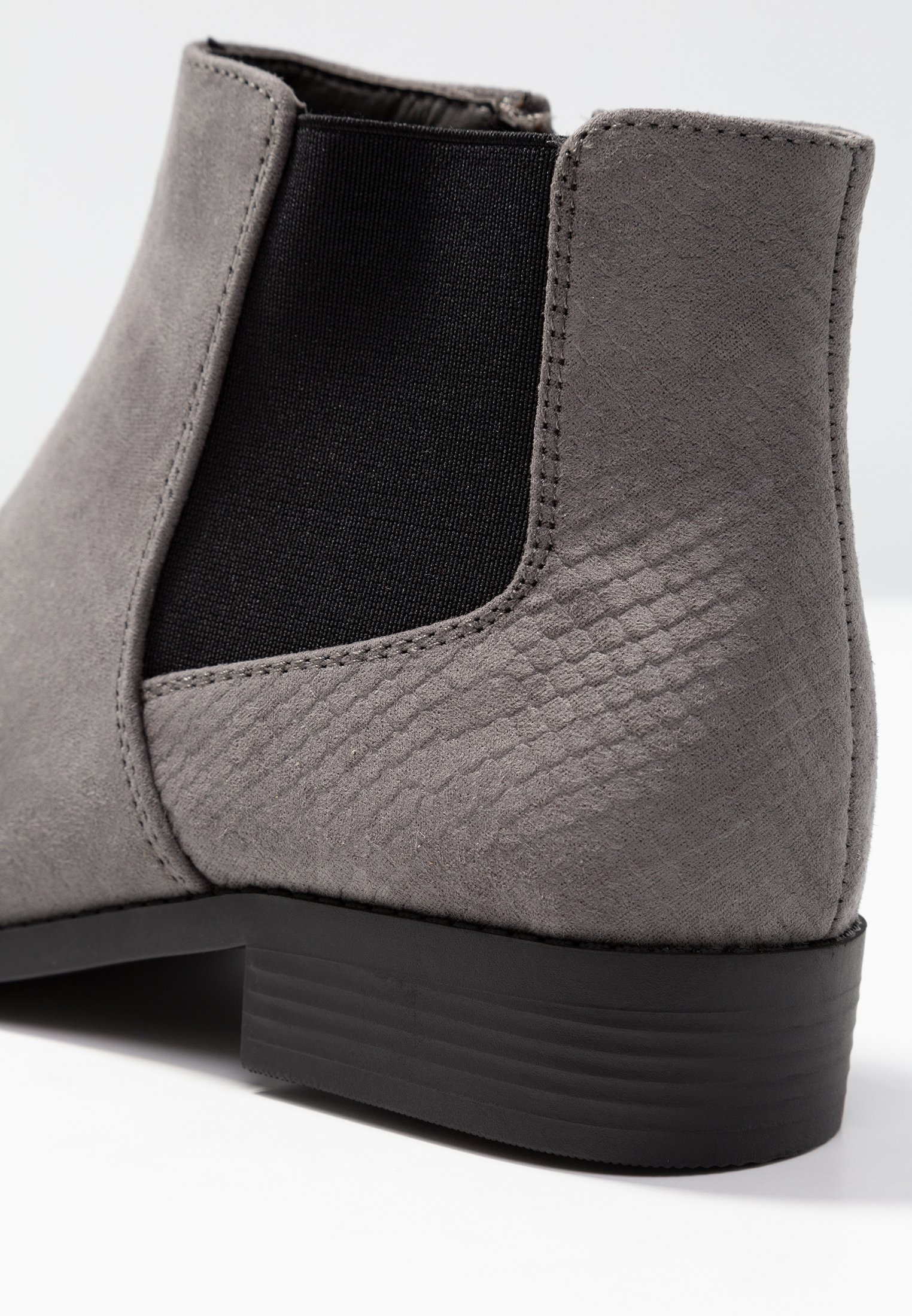 Fit Talons À Mid New Look AmberBoots Grey Wide O8kXn0wP