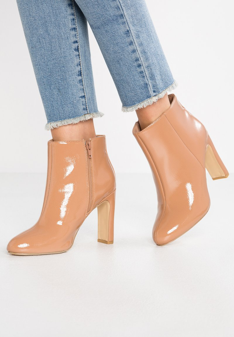 New Look Wide Fit - WIDE FIT ETTA - High heeled ankle boots - camel
