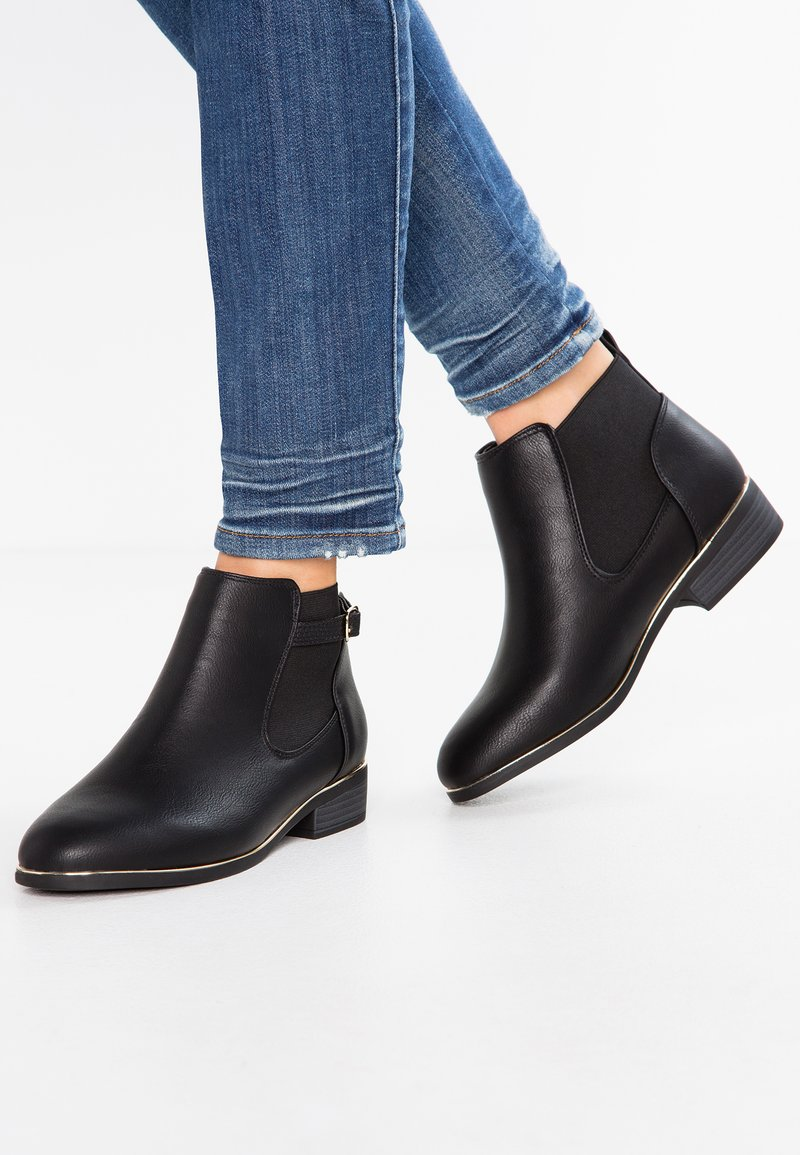 New Look Wide Fit - WIDE FIT DARE - Ankle boots - black