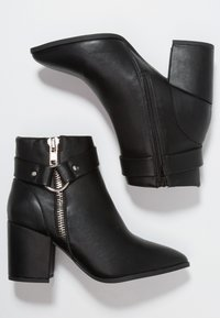 New Look Wide Fit - WIDE FIT  - Ankelboots - black - 3