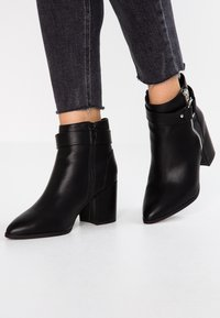 New Look Wide Fit - WIDE FIT  - Ankelboots - black - 0