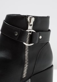 New Look Wide Fit - WIDE FIT  - Ankelboots - black - 2