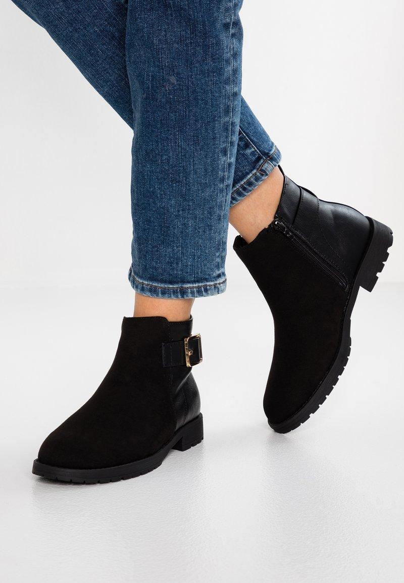 New Look Wide Fit - WIDE FIT DELILAH - Ankelstøvler - black