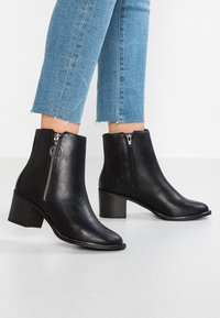 New Look Wide Fit - WIDE FIT DUDETTE - Stivaletti - black - 0