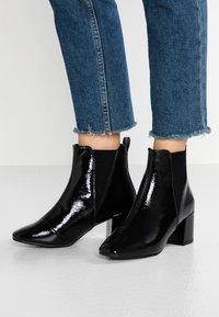 New Look Wide Fit - WIDE FIT AMIGO - Støvletter - black - 0
