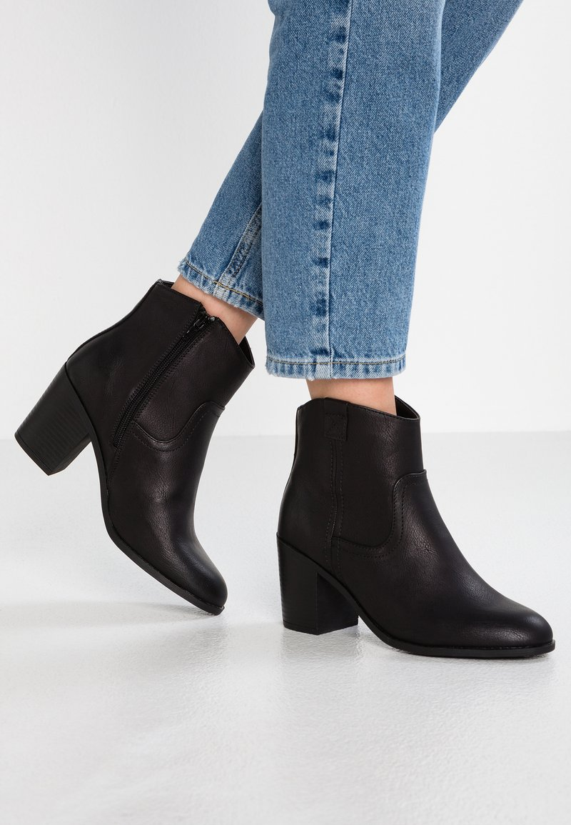 New Look Wide Fit - WIDE FIT CAMILLE - Classic ankle boots - black