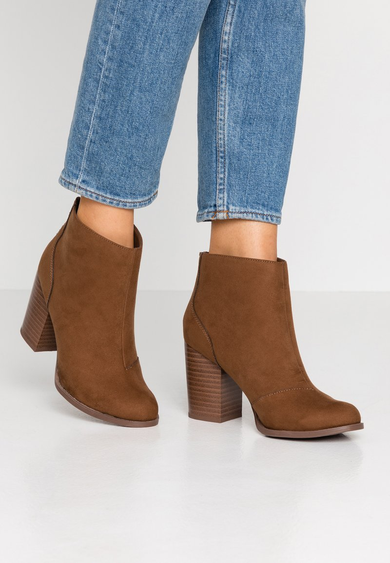 New Look Wide Fit - WIDE FIT CARIS - Ankle Boot - tan