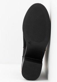 New Look Wide Fit - WIDE FIT CORA - Botines bajos - black - 6
