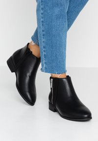 New Look Wide Fit - WIDE FIT DEIDRE - Ankle boots - black - 0