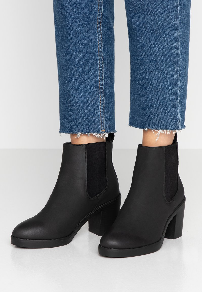 New Look Wide Fit - WIDE FIT DUSTIN - Ankle boots - black