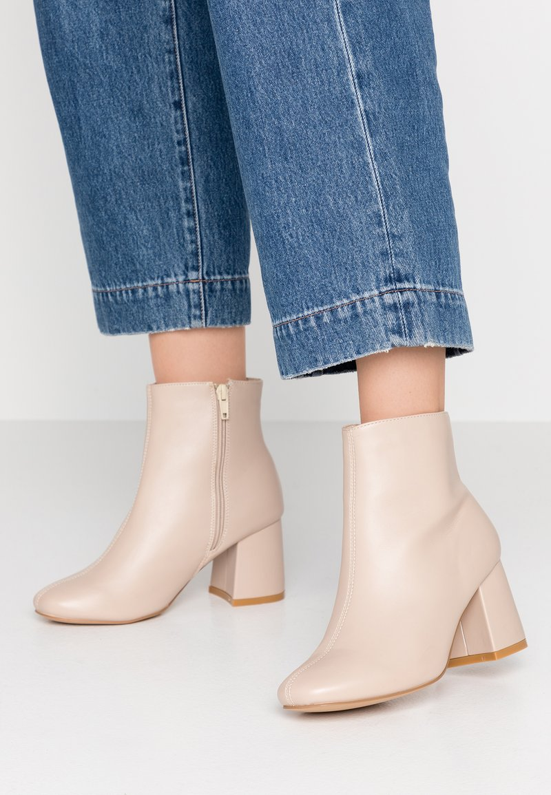 New Look Wide Fit - WIDE FIT BARISSA  - Ankle boot - offwhite