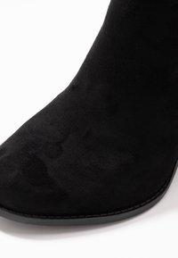 New Look Wide Fit - WIDE FIT DASSEL  - Kotníková obuv - black - 2