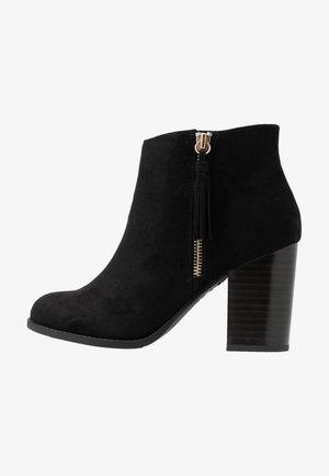 WIDE FIT DASSEL  - Kotníková obuv - black