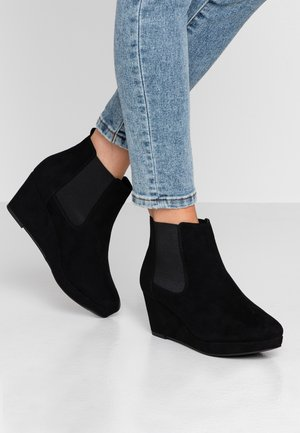 WIDE FIT BARBS - Ankle boots - black