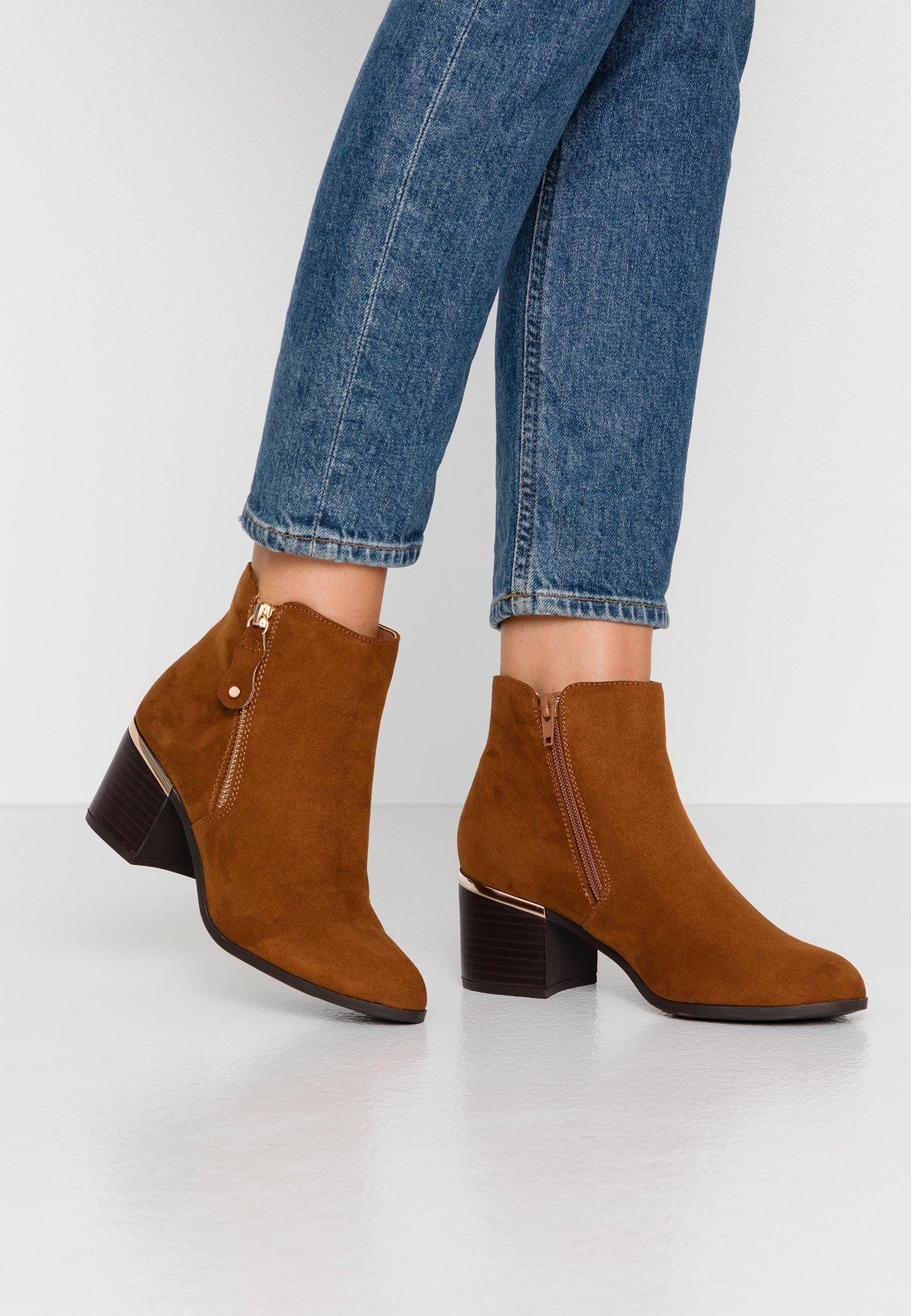 New Look Wide Fit WIDE FIT CLARET - Tronchetti tan