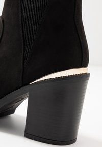 New Look Wide Fit - WIDE FIT CARRIE - High heeled ankle boots - black - 2