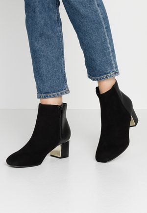 WIDE FIT ALFIE - Ankle boots - black