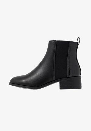 WIDE FIT ANDIE - Boots à talons - black