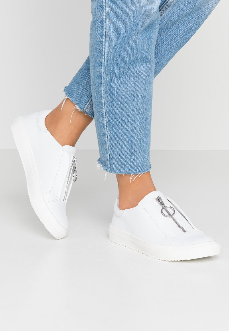 Nly by Nelly - ZIP - Trainers - white
