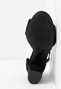 Nly by Nelly - BLOCK  - Sandaler med høye hæler - black - 6