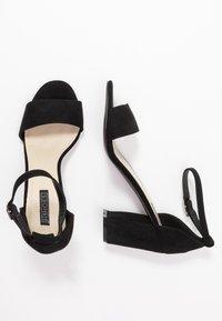 Nly by Nelly - BLOCK  - Sandaler med høye hæler - black - 3