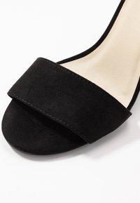 Nly by Nelly - BLOCK  - Sandaler med høye hæler - black - 2