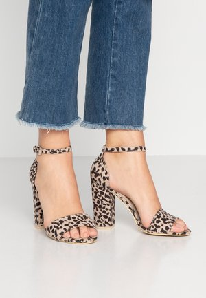 BLOCK  - Korolliset sandaalit - multicolor