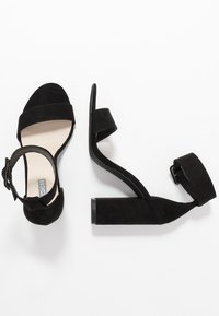 Nly by Nelly - ANKLE BUCKLE - High heeled sandals - black - 3