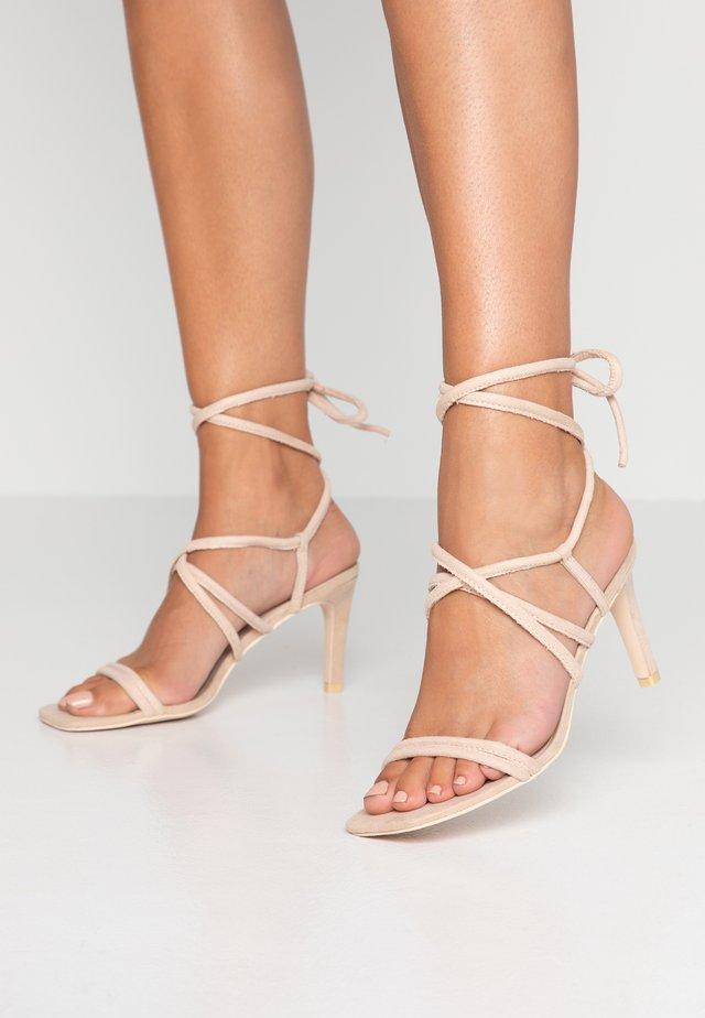 SPELL ON YOU - High Heel Sandalette - beige