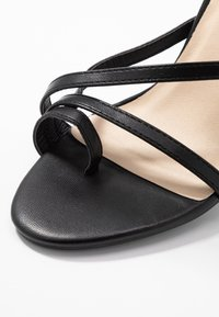 Nly by Nelly - ADORABLE STRAP BLOCK - High heeled sandals - black - 2